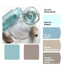 Superior Beach Paint Colors For Bedroom Warm Muted Blue Water Sand Beach Mink Brown  Tan Taupe Ivory Cream Color Colour Beach House Interior Paint Color Ideas