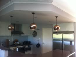 lighting design ideas copper pendant lights kitchen tom dixon copper shade replica creations stylish