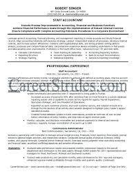 Sample Accounting Resume Objective Resume Sample Source