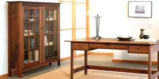 bookcases natural cherry bookcase solid wood glass doors with book