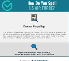 More accurately, the alphabet is known as the international. Correct Spelling For Us Air Force Infographic Spellchecker Net