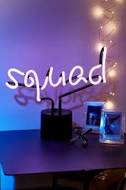 Neon Lights Urban Outfitters Squad Neon Table Lamp Neon Lighting Neon Neon Signs