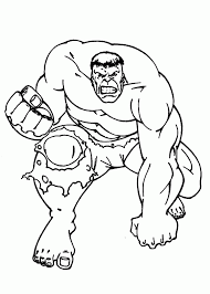 The vivid coloration of comic book characters is another advantage of these coloring pages as they let your kids learn a lot about colors while having fun with their favorite characters. Hulk Coloring Pages For Kids Printable Free Coloing 226645 Coloring Home