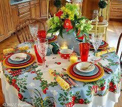 fiestaware table linens homer laughlin fiesta ware in a summer pallettethe little round