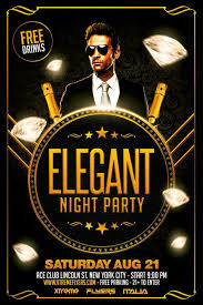 club flyer templates freepsdflyer download free elegant party flyer template
