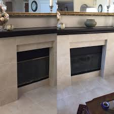 before after my dated brass finished fireplace given a modern makeover rust oleum high heat spray paint saved me from spending several hundred dollars