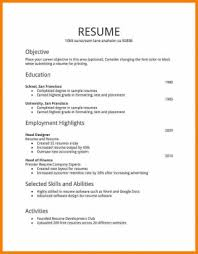 How To Make Resume For Job Extraordinary Resume Templates How Make For Job To First With Example Simple