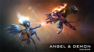 dota 2 angel and demon courier workshop submission youtube