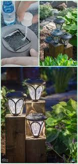 outdoor solar lighting ideas. DIY Cedar Cube Landscape Lights Tutorial-DIY Solar Inspired Light Lighting Ideas Outdoor