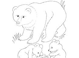Easy Cute Coloring Pages Of Animals Wild Printable Best Animal
