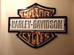 Harley Davidson Signs Decor Skillful Ideas Harley Davidson Wall Decor With Decoration Art And 59