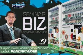 Vending Machine Malaysia Business New Seminar Business Vending Machine