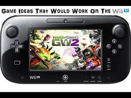 Game Ideas That Would Work The Wii U Plants vs Zombies Garden