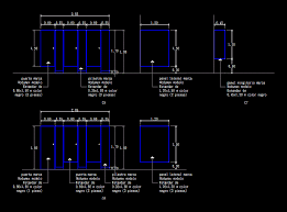 glass partition in autocad