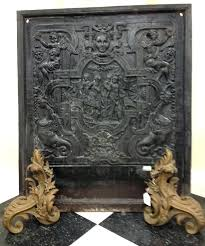 cast iron fireplace faceplate back plate fireplaces uk antique