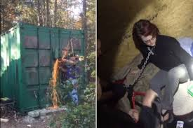 The shocking moment police rescue woman from a serial killer New.