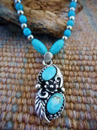 kjwp519 1 sterling silver turquoise pendant necklace