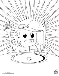 Small Picture Book of recipes coloring pages Hellokidscom