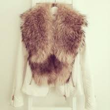 jacket coat fur white foz fashion white coat zipper jacket leather jacket scarf faux fur coat