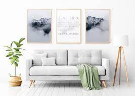 Picture frame on the wooden wall. How To Put Up Wall Art The Ultimate Guide To Poster Frames Project Nord Journal