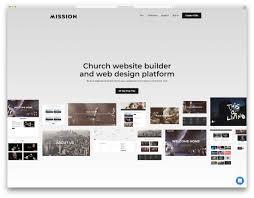 Web Design For Builders 21 Best Church Website Builders To Spread Gods Word 2019