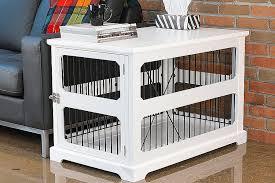designer dog crate furniture ruffhaus luxury wooden. Lovely Designer Dog Crate Furniture On Kennel End Tables Luxury Ruffhaus Wooden