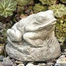 garden statues frog international totally zen frog cast stone garden statue outdoor frog statues
