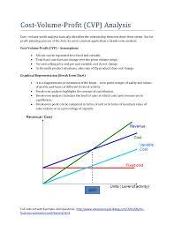 5 Cost Volume Profit Cvp Analysis