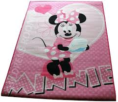 minnie mouse rug bedroom circular area rug with mickey mouse character and flood door placed also outside bathroom and blue base color and red clothes