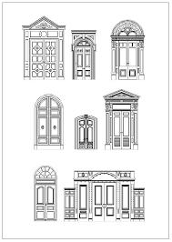 window designs drawing. Perfect Designs Ornamental Door U0026 Window Bundle U2013 CAD Design  Free BlocksDrawings Details In Designs Drawing D