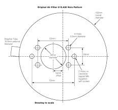 technical drawings for vintage classic cars from holden vintage air filter for su 1 3 4 in daimler sp250