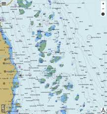 Great Barrier Reef Dunk Island To Flora Pass Marine Chart
