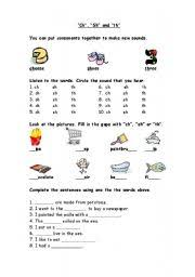 © contributed by leanne guenther. Phonics Worksheet Ch Sh Th Esl Worksheet By Ema Bhs