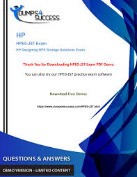 Designing Hpe Backup Solutions Updated Hpe0 J57 Hp Designing Hpe Storage Solutions Exam