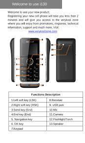I130 VERYKOOL I130 User Manual VeryKool USA
