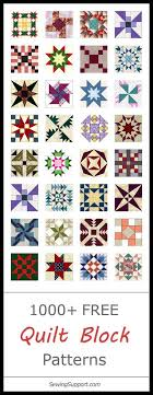 Best 25+ Quilt block patterns ideas on Pinterest | Patchwork ... & Lots of Free Quilt Block Patterns Adamdwight.com