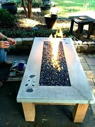 build fire table your own gas tabletop concrete bowl pit cover how to a completed fire pit