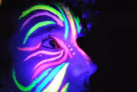 rave face paint design ideas