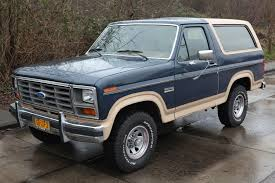 new 2018 ford bronco. exellent ford 1986 ford bronco by joost j bakker via wikipedia for new 2018 ford bronco
