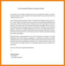 5 Literature Review Outline Apa Ledger Review
