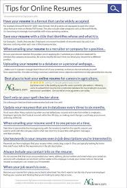 Online Resumes For Employers Tips For Online Resumes Small Businesses Pinterest Resume