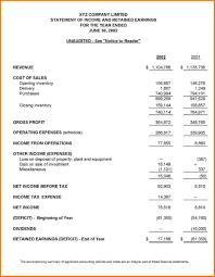 Example Of A Financial Report financial template Cityesporaco 1
