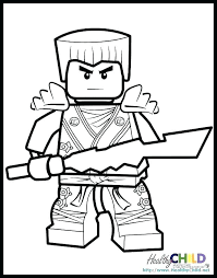 Lego Ninja Coloring Pages Masters Of Coloring Pages Free Page