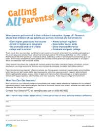 Pta Elections Flyer Pto Today Calling All Parents Flyer Pto Today