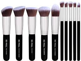 bs mall tm makeup brushes premium makeup brush set synthetic kabuki makeup brush set cosmetics foundation blending blush