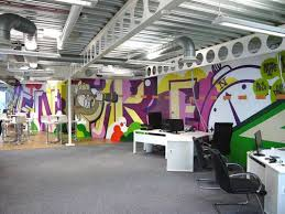 creative office designs. Creative Office Space Typography   10 Incredibly Cool Design Murals Agencies Bloq Designs