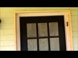 front door trimFront Door Entry Way Exterior Moldingwmv  YouTube