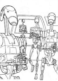How To Draw Droidekas In Star Wars Coloring Page Download Print