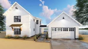 modern farmhouse plan with 2 beds and semi detached garage 62650dj 1477323057 14792 contemporary farmhouse plans