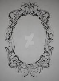 1024x1397 frame tattoo designs frame tattoo designs baroque dog tattoo idea frame tattoo sketch